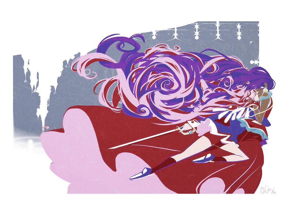 utena - castles in the sky by chirart