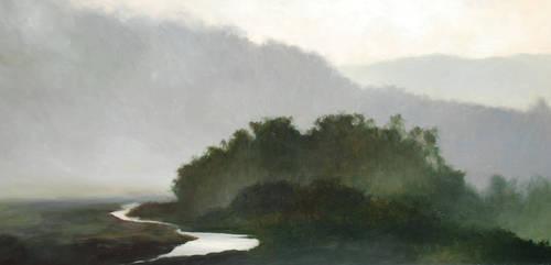 Pescadero Creek by dennyhollandstudio