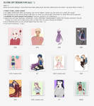 ++ SELLING OCS/DESIGNS/ADOPTS ++ by ayaben