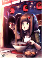 Ramen by HOAIartworks