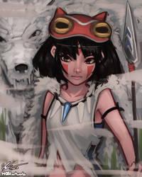 Mononoke by HOAIartworks