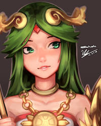 Palutena by HOAIartworks