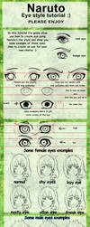 Eye tutorial naruto line style by Izumii89