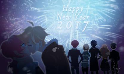 Happy New Year 2017 by Izumii89