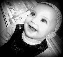 Sweet, Smiling Baby by nicolelylewis