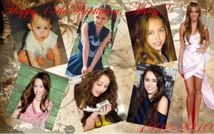 Happy Birthday Miley by nicolelylewis