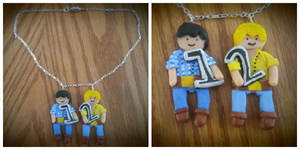 Bo and Luke Necklace by nicolelylewis