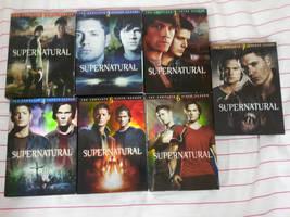 Every Season of Supernatural by nicolelylewis
