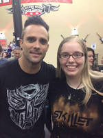 Me with John Cooper! by nicolelylewis