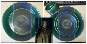 'Sam' Dinnerware Set by nicolelylewis