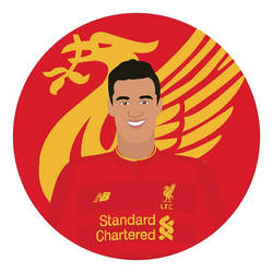Philippe Coutinho by MalouSloth