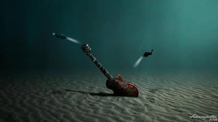 Lost Guitar by sakurapotter