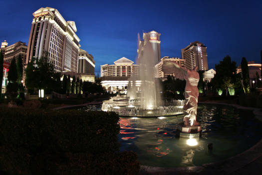 Caesers Palace and casino. by bimmix