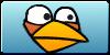 Angry Birds Blue Button by vyndo