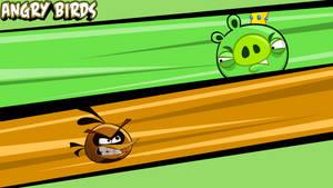 Angry Birds wallpaper orange by vyndo