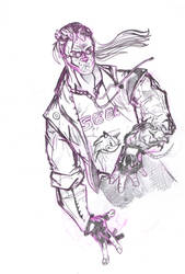 comix zone sketch turner by andrew-henry
