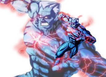 Captain Atom by andrew-henry