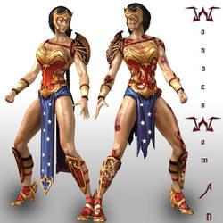 Wonder Woman by Sticklove