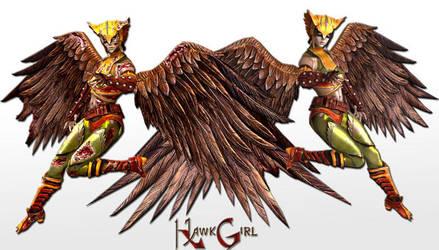HawkGirl by Sticklove