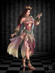 Dynasty Warriors 8 - Diaochan by Sticklove