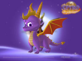 Spyro the Dragon by Sticklove