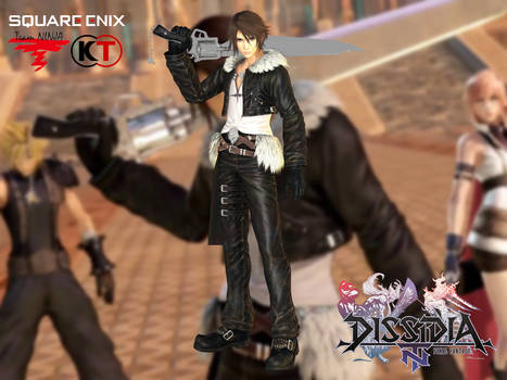 Squall (default) by Sticklove