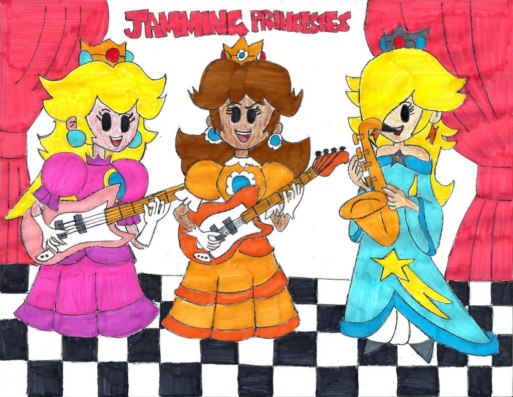 Jamming Princesses by PhantomMasterRamos89
