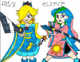 Celestia Samurai's by PhantomMasterRamos89