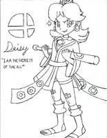 Kick Boxer Daisy by PhantomMasterRamos89