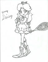 Young Daisy by PhantomMasterRamos89