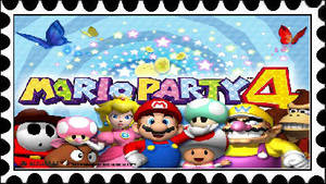Mario Party 4 Stamp by PhantomMasterRamos89
