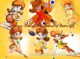 Princess Daisy Poster Tribute by PhantomMasterRamos89