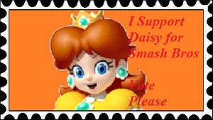 Support Daisy for Smash Stamp by PhantomMasterRamos89