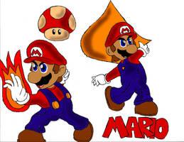 Super Mario by PhantomMasterRamos89