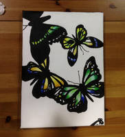 Butterfly Fly Away (Completed) by ARTbyRozhanaB