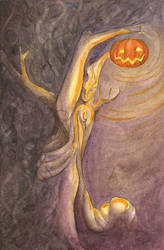 All Hallows' Eve by Drakonee