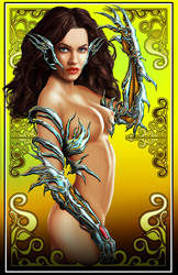 Witchblade nude varient by comicsINC