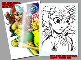 rogue card by comicsINC