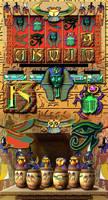Egypt theme Slot design by comicsINC