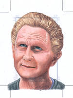 Odo Officially licensed Sketch card by comicsINC