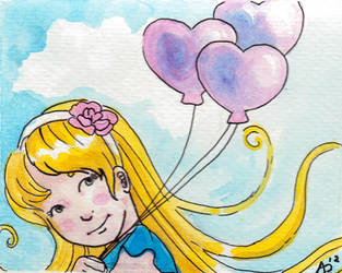 99 Pink Balloons by sohalia