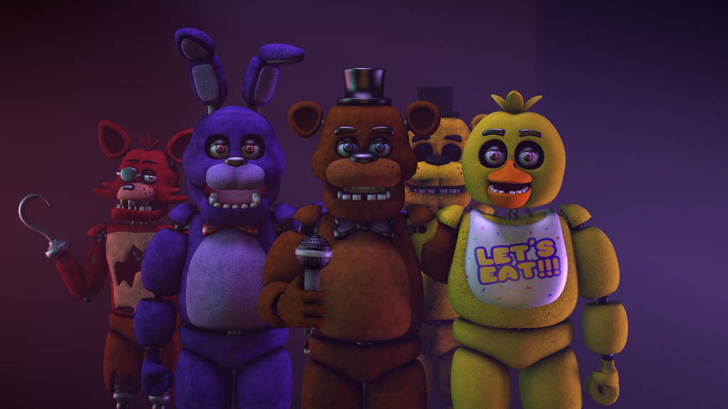 Adventure Freddy, Bonnie, and Chica by JoseTheMaker on