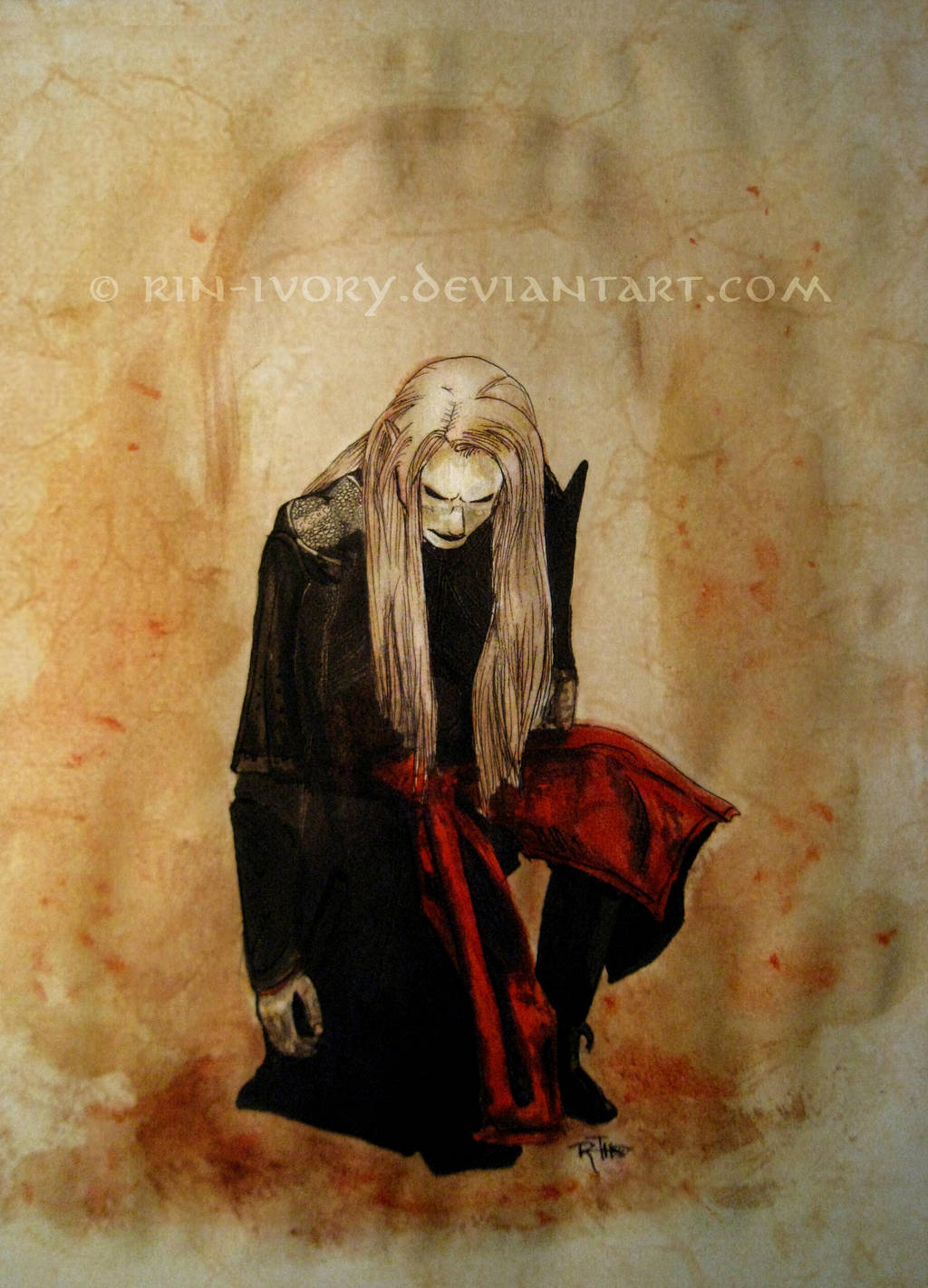 Prince Nuada Silverlance by ElverynelCreations