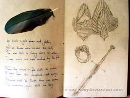 Book of Quotes I: Isildur's heir by ElverynelCreations