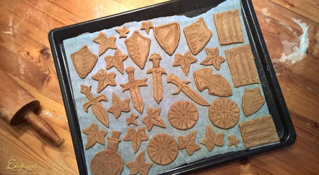 Elven Christmas Cookies by ElverynelCreations