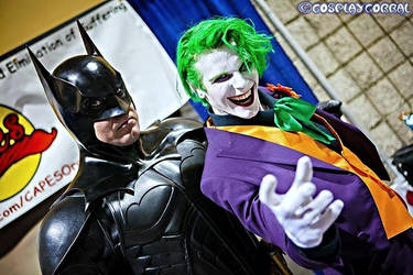 Smilex Batman and Joker by SmilexVillainco