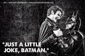 Batman vs Joker by SmilexVillainco