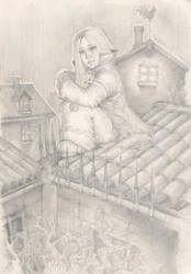 On the roof... by Svenechoff