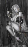Lady Death by Svenechoff