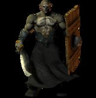 Orc Brute png by Direwrath